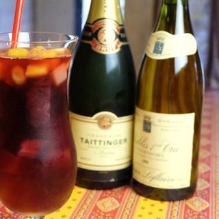 ワインだけではなく、ひとつひとつのドリンクに思いをかけて・・