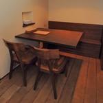 ビストロFrogs - テーブル席
