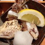 稲田屋 - 鯛カマの塩焼き