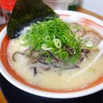 ラーメン食堂 麺道場 - とんこつラーメン