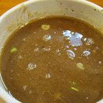 麺匠 ヒムロク - 麺匠 ヒムロク:スープ割り