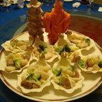 桃花源 - 白身魚の塩味炒め
