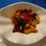 桃花源 - 鶏肉の辛し炒め