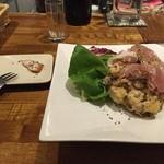 YASHIKA - 生ハムのせスモークポテトサラダ
