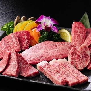 限定品の『和牛一頭六種盛り合わせ』6300円!