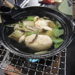 休暇村 日光湯元 レストラン - 土瓶蒸し。
