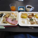 休暇村 日光湯元 レストラン - 朝食バイキング一例。