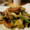 幸菜福耳 - 料理写真:☆鴨肉とセロリの炒め物(≧▽≦)/~♡☆