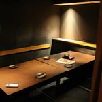 産直鮮魚と個室 葉隠 心斎橋店 - 店内・個室