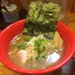 玉 赤備 - 特製豚鶏つけ麺のスープ