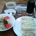カフェ マーレ - サンドイッチモーニング