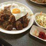 大判焼きエコー - 料理写真:カツカレーセット