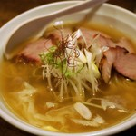 荏原町 しなてつ - 塩チャーシューワンタン麺 1,260円