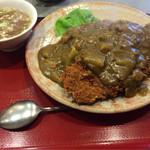 来集軒 - カツカレー ¥790- (税込) スープ付