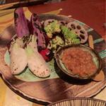 なっぱSUN - しょんしょんを付けて食べる焼き野菜