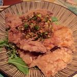 なっぱSUN - 鶏のザクザク揚げたっぷりネギソース