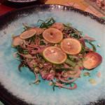 なっぱSUN - マグロのタタキ酢橘ポン酢