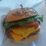 44839123 - ベーコン・チーズ・バーガー ドリンクセット 1,380円(外税)
