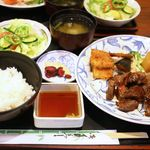カプリ島 - ステーキ定食 160g ¥1880