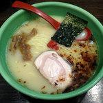 麺匠 むさし坊 - むさし坊らーめん720円