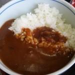 ふく家 - 料理写真:ミニカレー