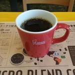 ミスタードーナツ - ドリンク写真:ホットコーヒー(270円)です。