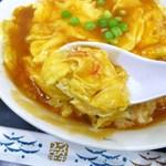 中国料理 登龍 - 天津丼(大盛)830円