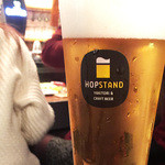 HOP STAND - HOP STAND ORIGINAL CRAFT BEER(・o・)
