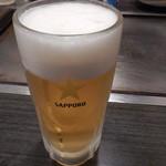 かねけん - 生ビール中ジョッキ