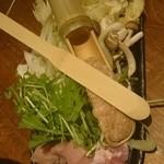 水炊き・焼き鳥 とりいちず - 鍋の具材 1人前