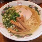 オカヤ食堂 - 中華そば(あっさり)