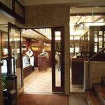 椿屋珈琲店 - 入り口