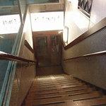 椿屋珈琲店 - 地下への階段