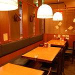金田屋 - スタンダードジャズが静かに流れる店内です