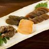 酒井甚四郎商店 - 料理写真:瓜・胡瓜・生姜・茄子の奈良漬。