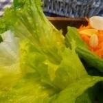モンタナベーカリー - セットに付いてくるサラダ