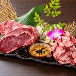 かわちどん - ボリューム満点牛ステーキと大人気とろろカルビ!