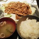 鉄家 - 焼きそばランチ810円(税込)