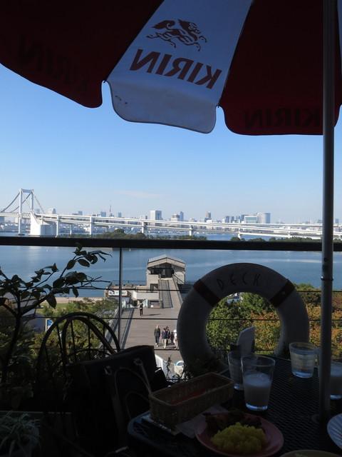 カザーナ お台場店 - テラス席からの眺め2