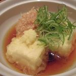 和食 舞 - 揚げ出し豆腐 2015.11.18