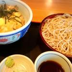 そば処 たぐり庵 - 親子丼と蕎麦ランチ900円