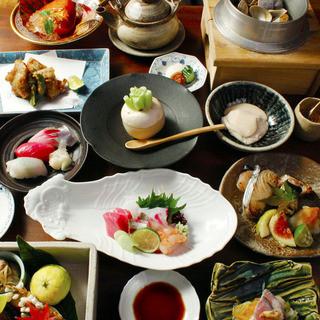 京料理に合う様々なお酒