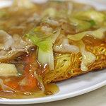 ラーメン河南 - 料理写真:あんかけ焼きそば