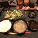 琉の介 - ゴーヤチャンプル定食680円