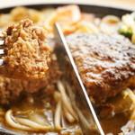 Cafe Lychee - 定番!牛肉100パーセントハンバーグ