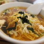 中華料理 豊楽園 - セットラーメン