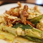 中華料理 豊楽園 - ホイコロ少なひ
