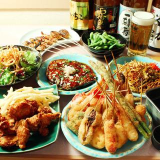 幹事様にも満足していただける食べ飲み放題コース!