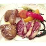 ペンション フレージェ - 料理写真:鴨とフォアグラ
