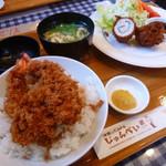 44865267 - デラックス海老丼 ¥1,260